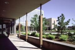 Colonnade Bordering Entrance Court