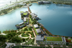 Dingshanhu Lakefront Entertainment District (Built 2011)