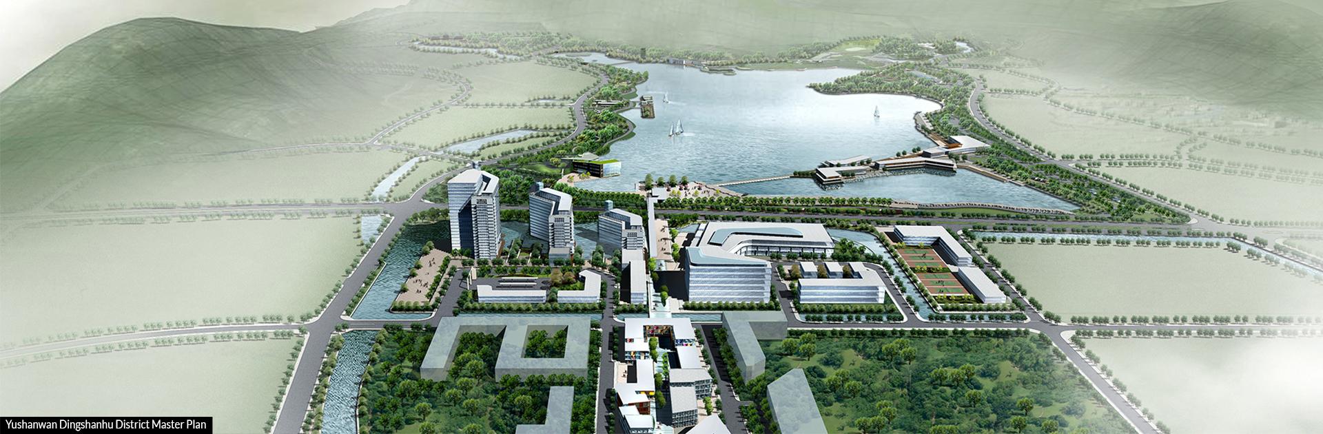 Yushanwan Dingshanhu District Master Plan